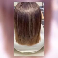 髪質改善 ナチュラル ミディアム 髪質改善カラー ヘアスタイルや髪型の写真・画像