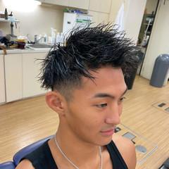 刈り上げ ショート メンズ ストリート ヘアスタイルや髪型の写真・画像