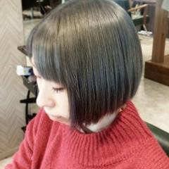アッシュ ストリート メンズ ボブ ヘアスタイルや髪型の写真・画像