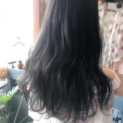 外国人風カラー グラデーションカラー ロング ブリーチ ヘアスタイルや髪型の写真・画像
