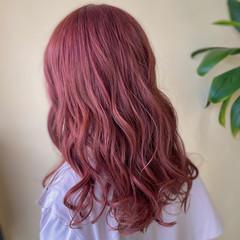 ロング ブリーチカラー ハイライト ガーリー ヘアスタイルや髪型の写真・画像