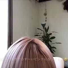 ミニボブ 透明感カラー ショートボブ ショートバング ヘアスタイルや髪型の写真・画像