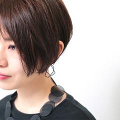 ショートボブ 大人女子 ショート ボブ ヘアスタイルや髪型の写真・画像