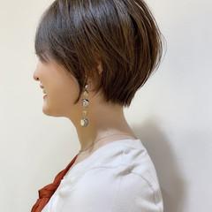 ショートヘア インナーカラー ショート ショートボブ ヘアスタイルや髪型の写真・画像