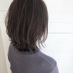 ショートヘア ナチュラル 暗髪女子 レイヤーボブ ヘアスタイルや髪型の写真・画像