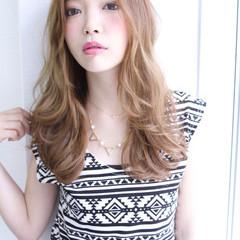 ガーリー 渋谷系 大人かわいい ロング ヘアスタイルや髪型の写真・画像