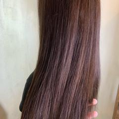 ラベンダーアッシュ アッシュグレー アッシュベージュ ナチュラル ヘアスタイルや髪型の写真・画像