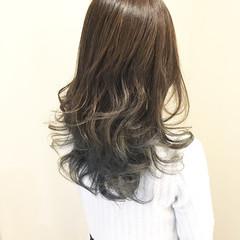 透明感 外国人風カラー ヘアアレンジ セミロング ヘアスタイルや髪型の写真・画像