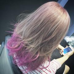セミロング 外国人風 前髪あり レイヤーカット ヘアスタイルや髪型の写真・画像