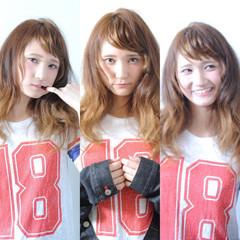 ロング 外国人風 グラデーションカラー ハイライト ヘアスタイルや髪型の写真・画像