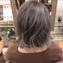 グラデーションカラー ボブ 外国人風 ワンレングス ヘアスタイルや髪型の写真・画像