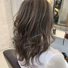 ロング ハイライト 大人ハイライト 外国人風カラー ヘアスタイルや髪型の写真・画像