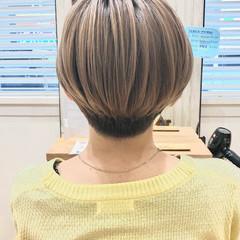 ショートボブ マッシュショート ストリート ミニボブ ヘアスタイルや髪型の写真・画像