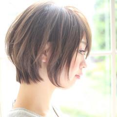 小顔 こなれ感 上品 ニュアンス ヘアスタイルや髪型の写真・画像