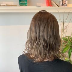 透明感カラー ブリーチカラー ナチュラル 大人可愛い ヘアスタイルや髪型の写真・画像
