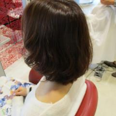 ゆるふわ ハイライト 春 ボブ ヘアスタイルや髪型の写真・画像