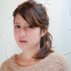 ヘアアレンジ 外国人風 波ウェーブ ヌーディーベージュ ヘアスタイルや髪型の写真・画像