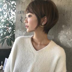 大人ヘアスタイル ショート フェミニン 吉瀬美智子 ヘアスタイルや髪型の写真・画像