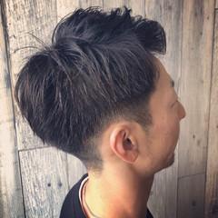 ショート ストリート フェードカット メンズカット ヘアスタイルや髪型の写真・画像
