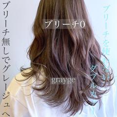 クールロング ロング フェミニン ロングヘア ヘアスタイルや髪型の写真・画像