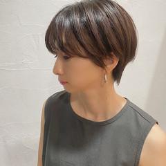 オシャレ ショートヘア ショート モード ヘアスタイルや髪型の写真・画像