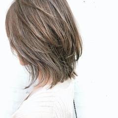 ウルフカット 簡単スタイリング 3Dハイライト ニュアンスウルフ ヘアスタイルや髪型の写真・画像