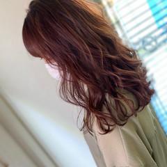 イルミナカラー ピンクベージュ トワイライト 透明感カラー ヘアスタイルや髪型の写真・画像