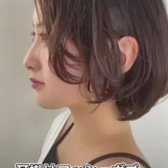 ショートヘア ミニボブ ショートボブ ウルフカット ヘアスタイルや髪型の写真・画像