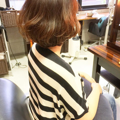 パーマ 夏 似合わせ ショート ヘアスタイルや髪型の写真・画像