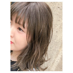 グラデーションカラー 女子力 ハイライト ナチュラル ヘアスタイルや髪型の写真・画像