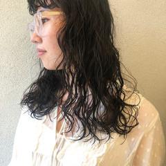 スパイラルパーマ デジタルパーマ ロング パーマ ヘアスタイルや髪型の写真・画像