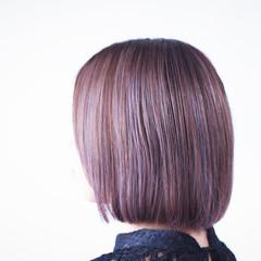 ラベンダー ラベンダーアッシュ ラベンダーグレージュ ラベンダーピンク ヘアスタイルや髪型の写真・画像
