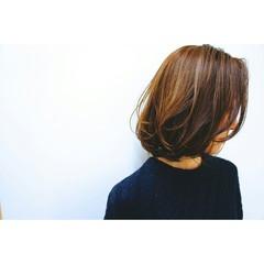 ボブ 色気 こなれ感 ニュアンス ヘアスタイルや髪型の写真・画像