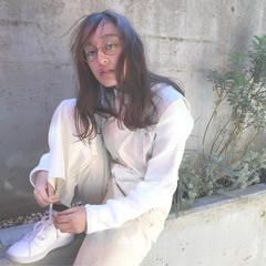 ストリート ミディアム 外国人風カラー 外国人風 ヘアスタイルや髪型の写真・画像