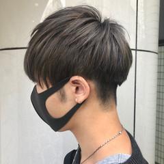 アディクシーカラー モード メンズマッシュ マッシュショート ヘアスタイルや髪型の写真・画像