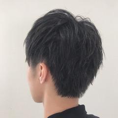スポーツ メンズスタイル 黒髪 メンズショート ヘアスタイルや髪型の写真・画像