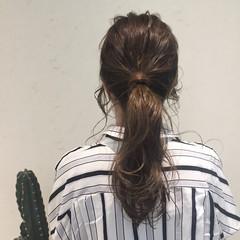 冬 ヘアアレンジ オフィス デート ヘアスタイルや髪型の写真・画像