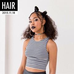 ヘアアレンジ モード 個性的 ストリート ヘアスタイルや髪型の写真・画像