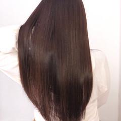 髪質改善カラー ロング 髪質改善 デート ヘアスタイルや髪型の写真・画像