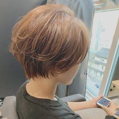 ミニボブ マッシュショート ショートヘア ショートボブ ヘアスタイルや髪型の写真・画像