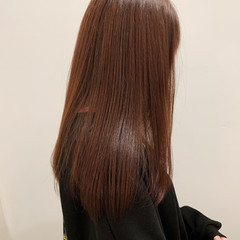 ツヤ髪 ストレート ナチュラル ロング ヘアスタイルや髪型の写真・画像