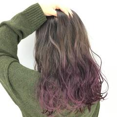 ブラウン 外国人風 ガーリー ブラウンベージュ ヘアスタイルや髪型の写真・画像