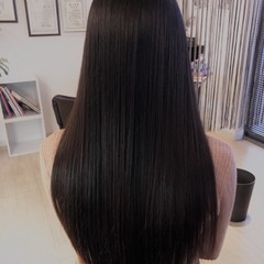 髪質改善 美髪 縮毛矯正 ナチュラル ヘアスタイルや髪型の写真・画像