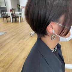 ミニボブ ショートボブ ショート ベリーショート ヘアスタイルや髪型の写真・画像
