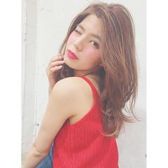 外国人風 色気 かわいい ガーリー ヘアスタイルや髪型の写真・画像