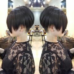 ジェンダーレス ショート 外国人風カラー モード ヘアスタイルや髪型の写真・画像