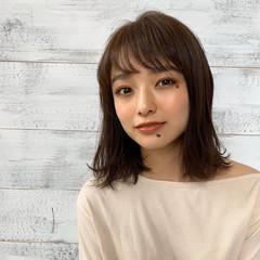 小顔ヘア オルチャン 外人風パーマ ナチュラル ヘアスタイルや髪型の写真・画像