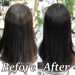 ナチュラル ツヤ髪 ロング 美髪 ヘアスタイルや髪型の写真・画像