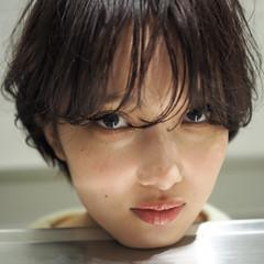 似合わせ ショート 小顔 外国人風 ヘアスタイルや髪型の写真・画像