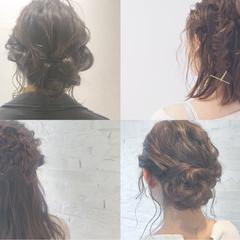 ショート 結婚式 デート ミディアム ヘアスタイルや髪型の写真・画像